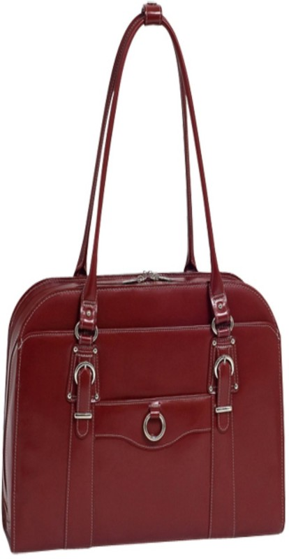 McKlein USA Women Red Shoulder Bag