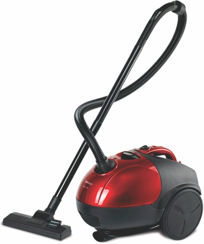 Inalsa QuickVac Dry Vacuum Cleaner(Red, Black)