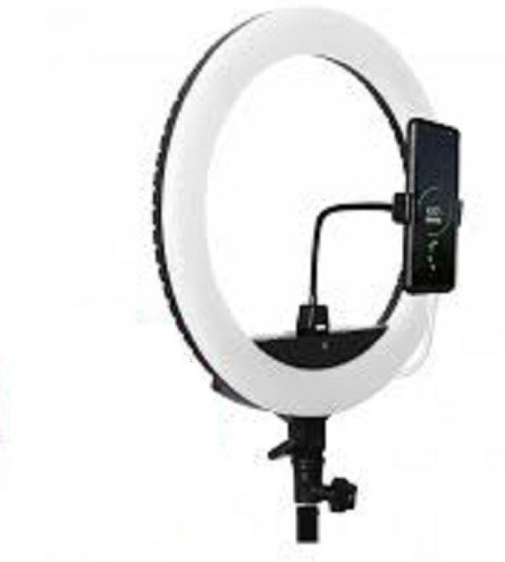 Buy Genuine 10 Inch Big LED Ring Light For Camera Smartphone Flash(White)