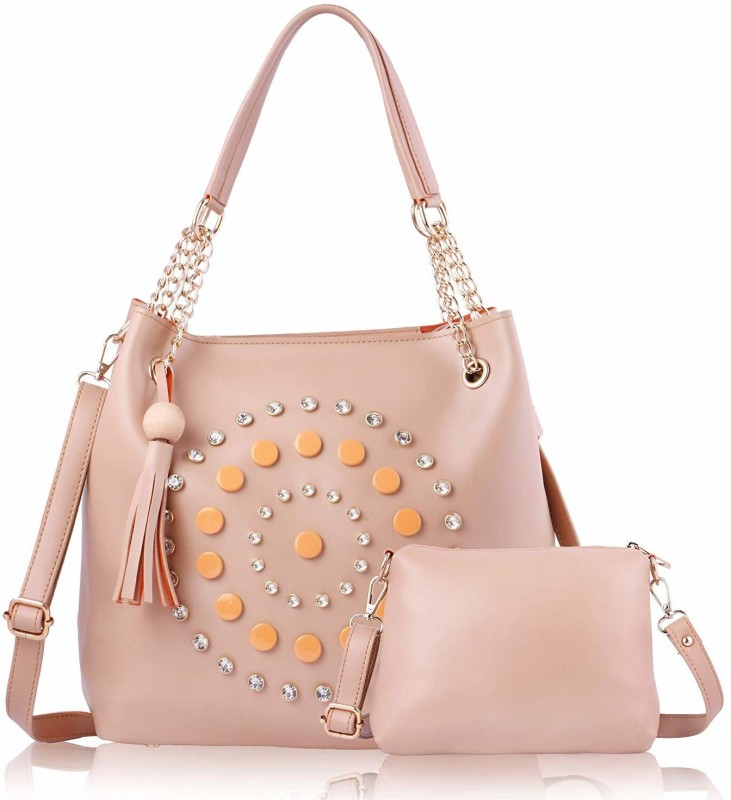 SaleBox Women Pink Handbag