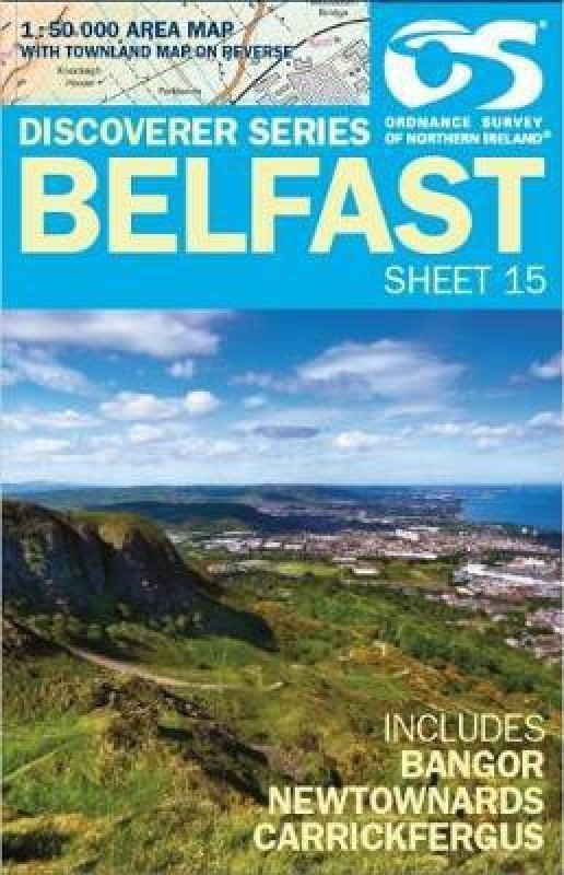 Belfast(English, Sheet map, folded, unknown)