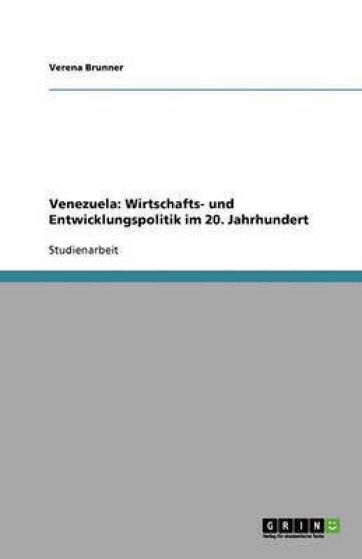 Venezuela(German, Paperback, Brunner Verena)