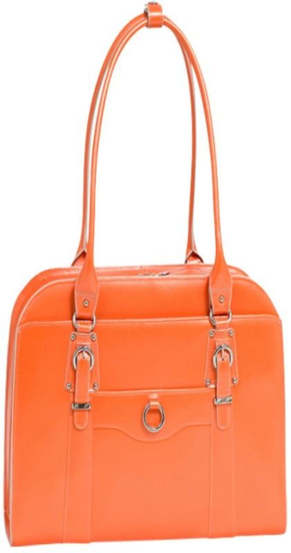 McKlein USA Women Orange Messenger Bag