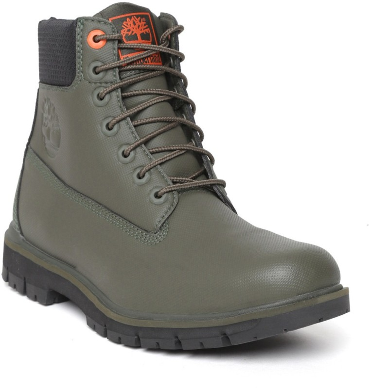 Timberland Boots For Men(Green)- Buy