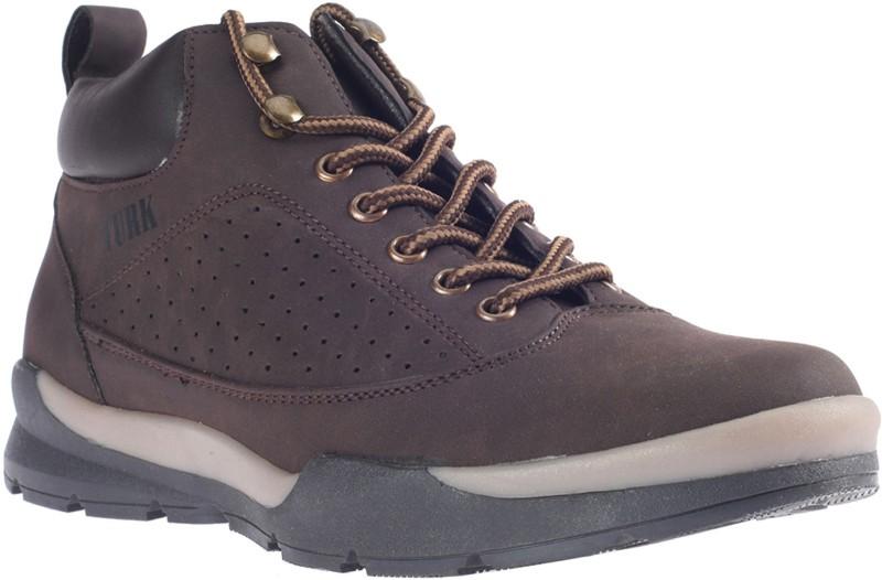 Khadim's Turk Dress Boots Boots For Men(Brown)