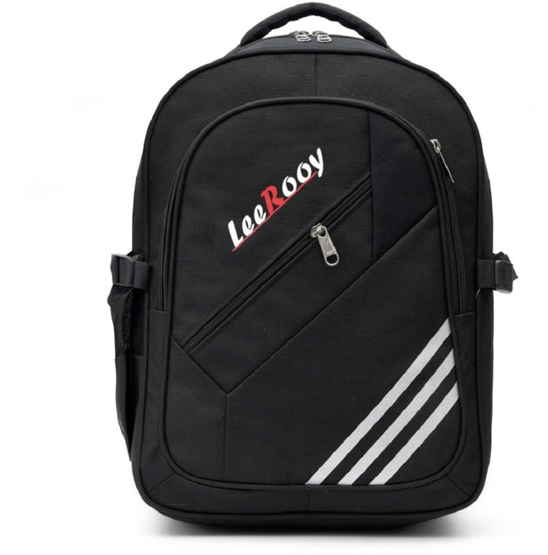 LeeRooy BG31BLK01 Waterproof Backpack(Black, 28 L)