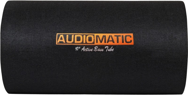 AudioMatic AMBT-10AR. AudioMatic Round Active Car Bass Tube -10-inch 4800W Output Subwoofer(Powered , RMS Power: 450 W)