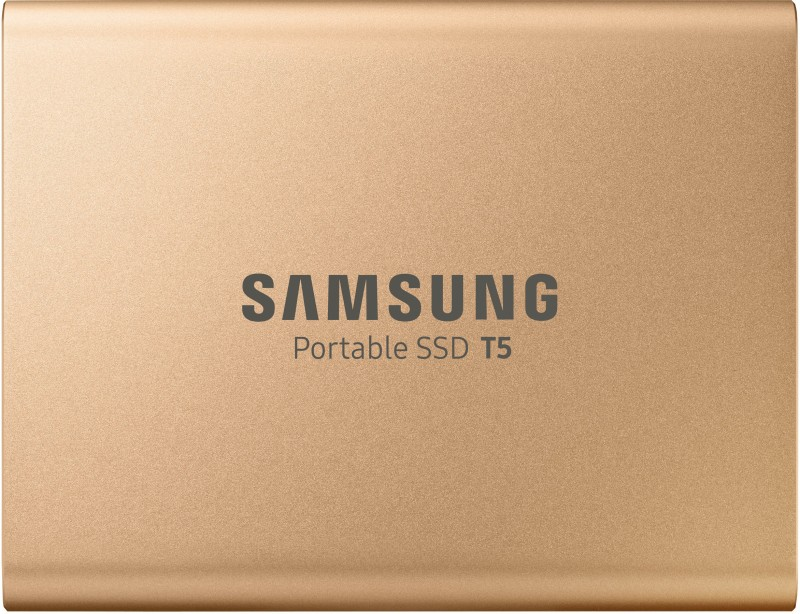 Samsung T5 1 TB External Solid State Drive(Gold)