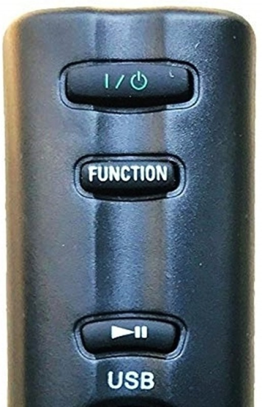 Sony Genuine AV System | Home Theater Remote Controller(Black)