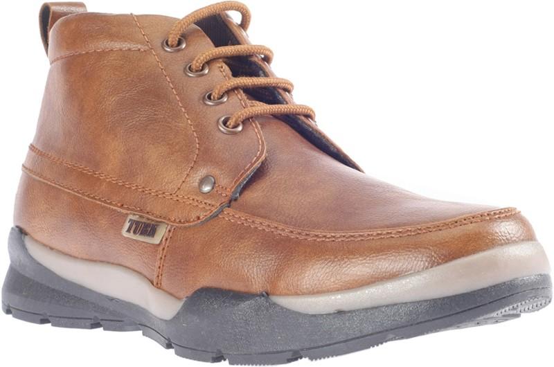 Khadim's Turk Dress Boots Boots For Men(Tan)