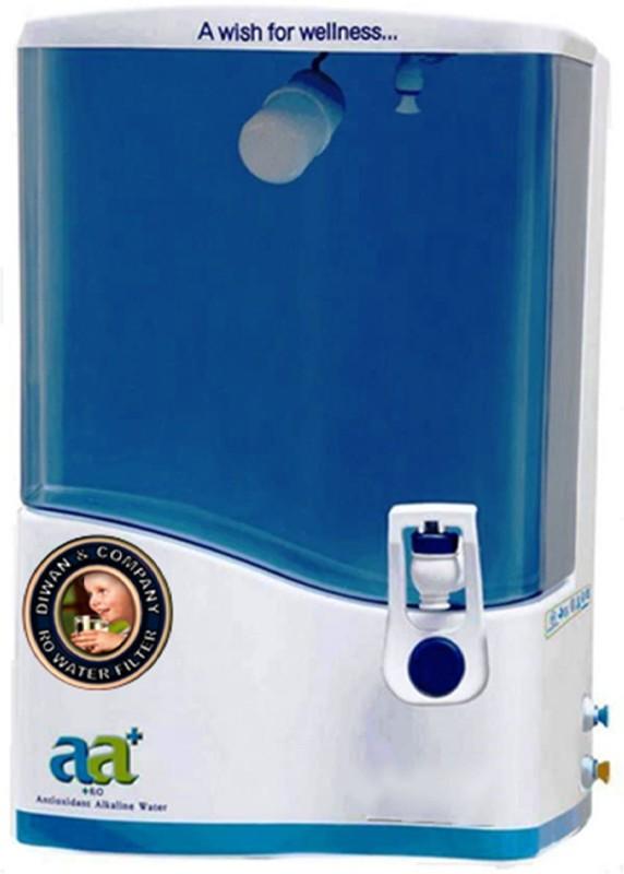 HI TECH Rivive-aa-01 8 L Mineral RO + UV + MF + MP Water Purifier(White, Blue)