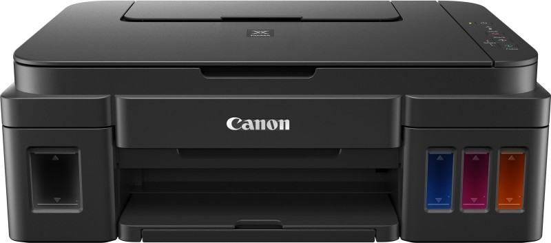 Canon Pixma G 2000 Multi-function Color Printer(Black, Refillable Ink Tank)