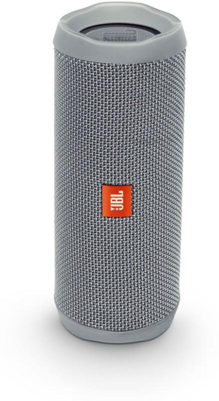 JBL Flip 4 Portable Bluetooth Speaker(Grey, Stereo Channel)