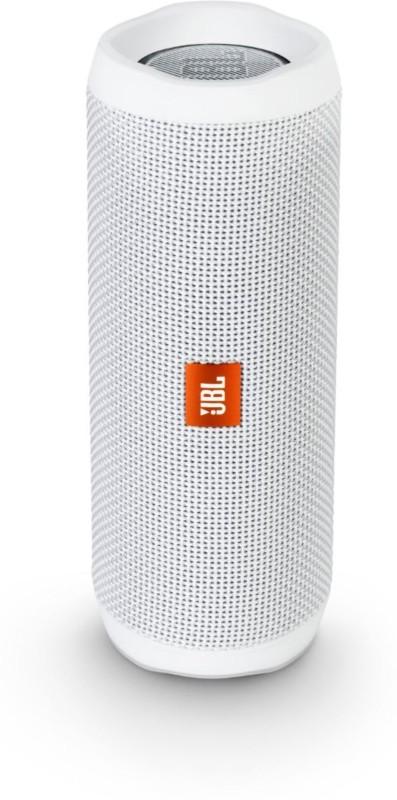 JBL Flip 4 Portable Bluetooth Speaker(White, Stereo Channel)