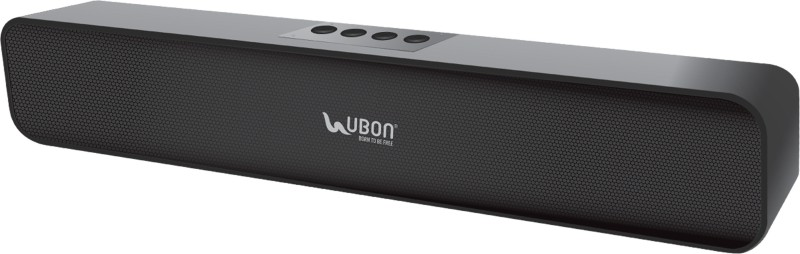 Ubon SP-70 Cool Bass 10 W Bluetooth Speaker(Black, Stereo Channel)