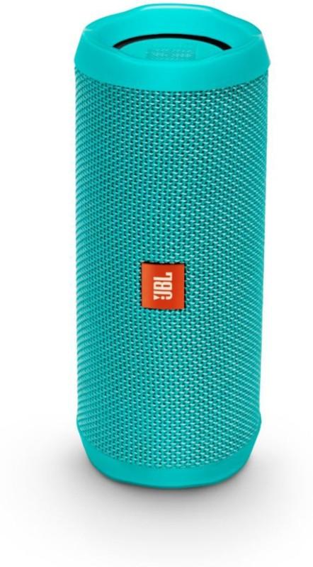 JBL Flip 4 Portable Bluetooth Speaker(Teal, Stereo Channel)