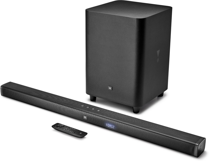 JBL BAR31 Dolby Digital with (Wireless Subwoofer & 4k Surround Sound) 450 W Bluetooth Soundbar(Black, 3.1 Channel)