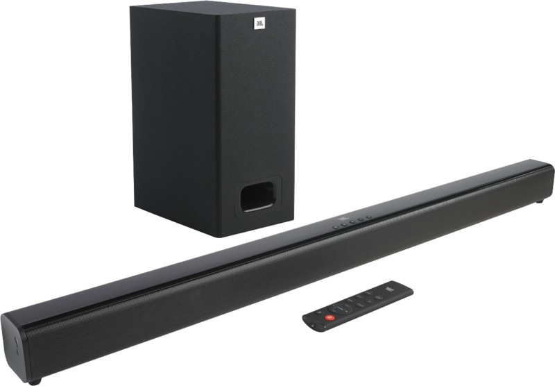 JBL SB130 110 W Bluetooth Soundbar(Black, 2.1 Channel)