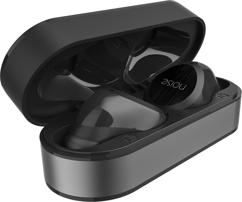 Noise Shots X1 Air True Wireless Bluetooth Headset(Graphite Grey, In the Ear)