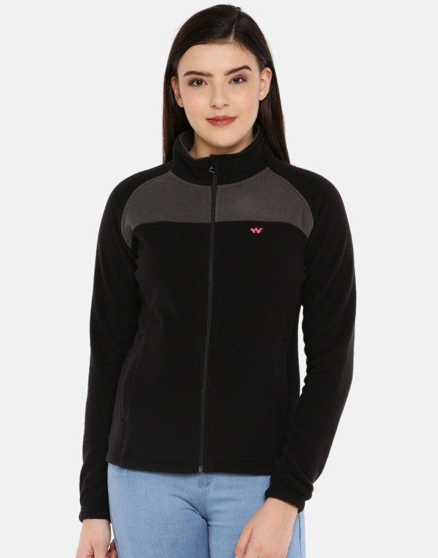 Wildcraft Full Sleeve Color Block Women Jacket