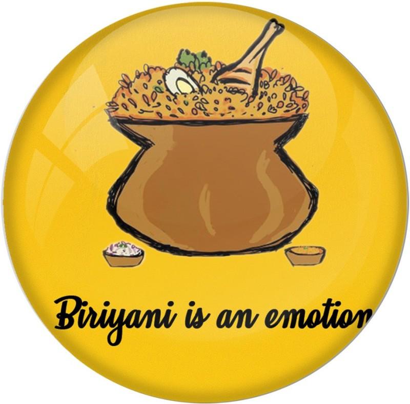 AVI Biriyani is an emotion 58mm Fridge Magnet Pack of 1