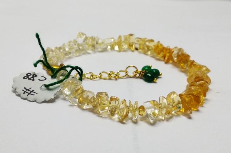 AB online Stone Crystal Bracelet