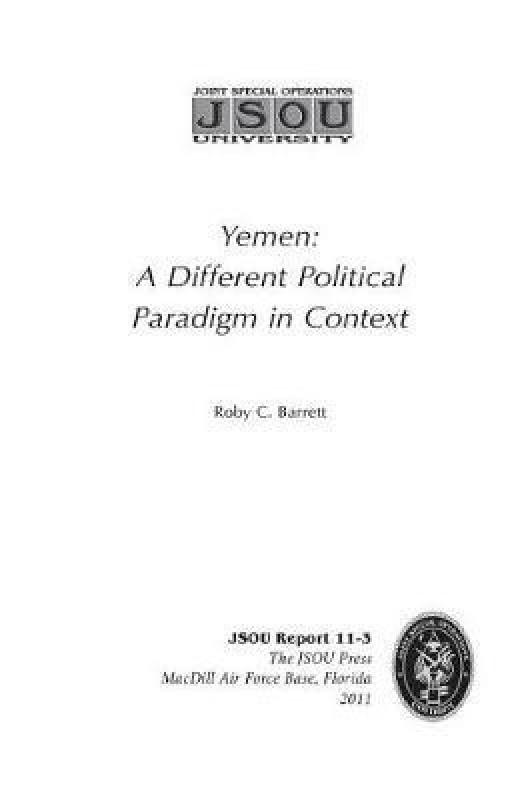 Yemen(English, Paperback, Barrett Roby C)