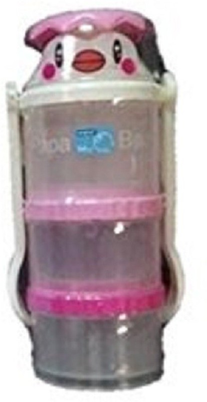 Baby's Clubb Milk Powder Container with Fork and Spoon  - Plastic(Multocolor)