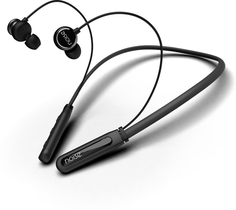 Noise Tune ELITE Neckband Bluetooth Headset(Midnight Black, In the Ear)