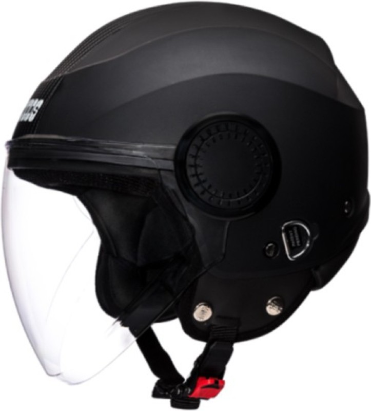 Studds Urban O/F Strip Motorbike Helmet(Black Black Strip)