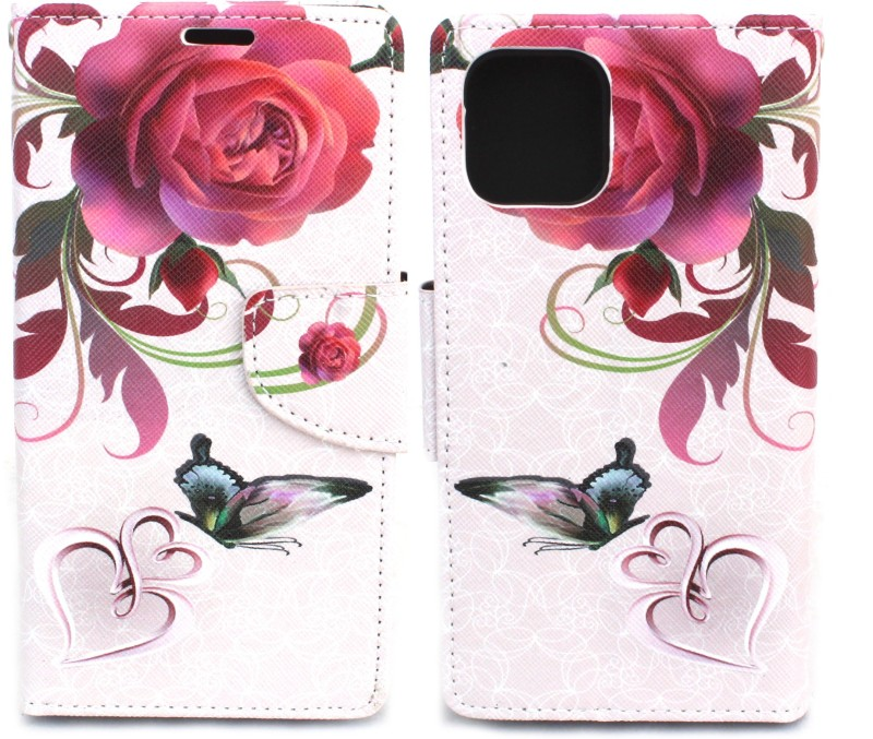 """Fashion Flip Cover for Apple iPhone 11 (6.1"""")(Multicolor, Cases with Holder)"""