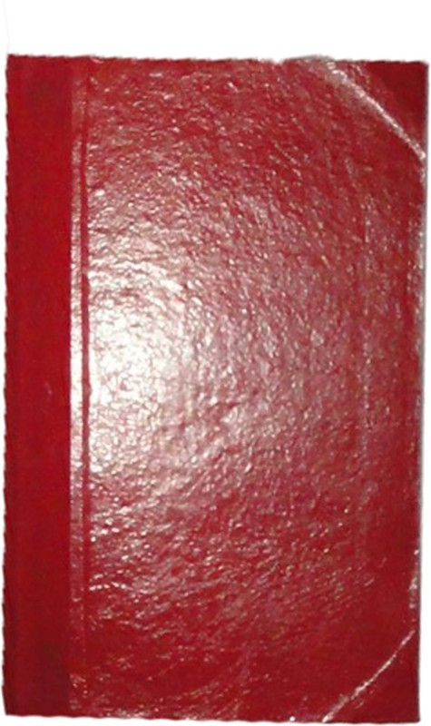 ATISHAY handmade A4 Journal 400 Pages(Red)