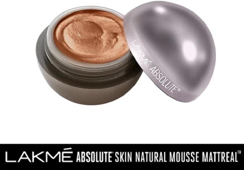 Lakme Mattreal Skin Natural Mousse-Rich Walnut Foundation(Rich Walnut, 25 g)