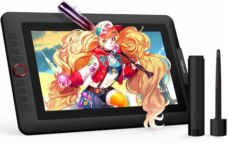 XP PEN 13.3 Pro Artist 12 x 7 inch Graphics Tablet(Black)