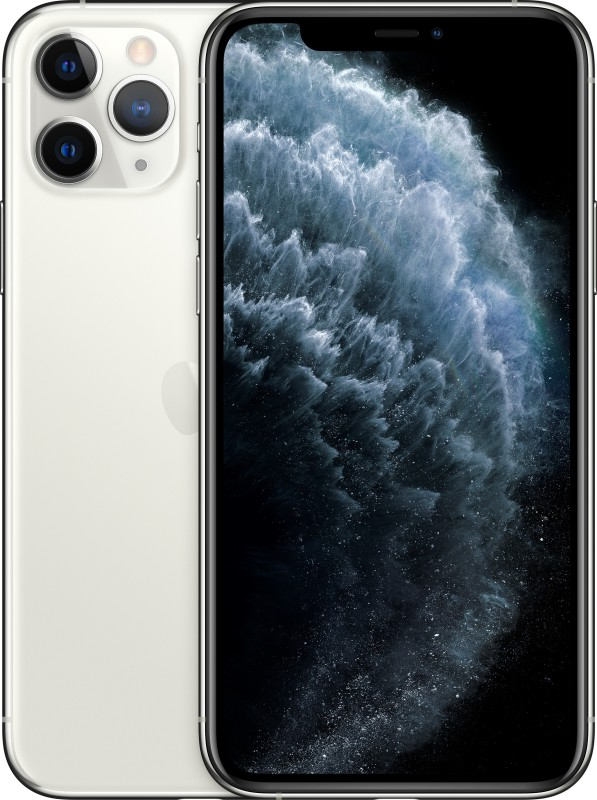 Apple iPhone 11 Pro Max (Silver, 512 GB)