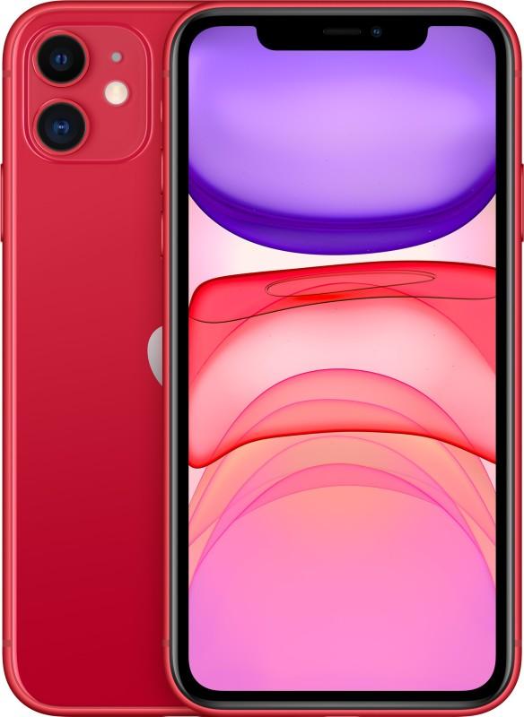 Apple iPhone 11 (Red, 256 GB)