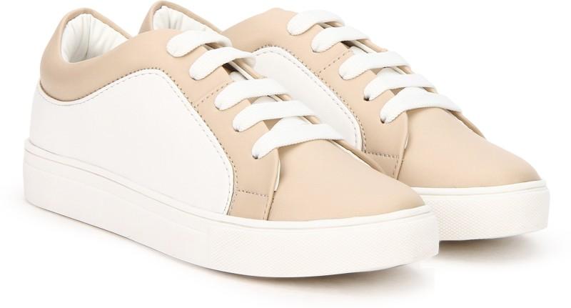 People Sneakers For Women(Beige, White)