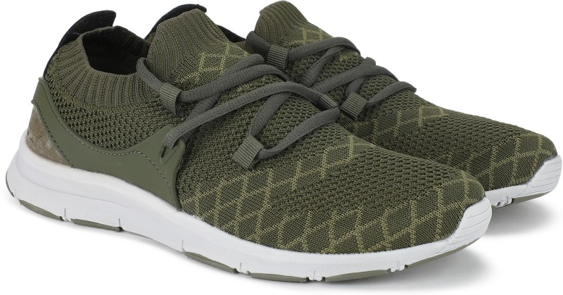 French Connection Sneakers For Men(Grey, Green)