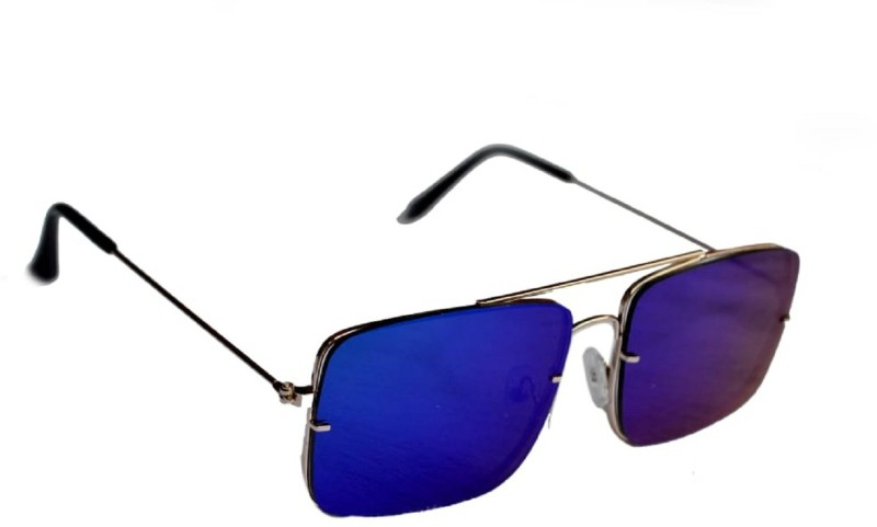 BULL - I Retro Square Sunglasses(Blue)