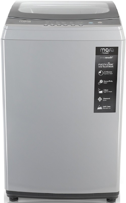 MarQ by Flipkart 8.5 kg with Turbo Wash Fully Automatic Top Load Grey(MQTLDG85)