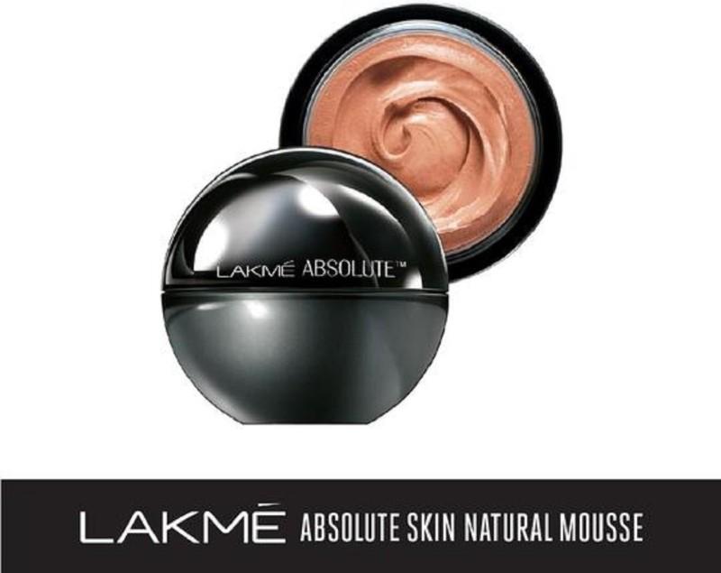 Lakme Mattreal Skin Natural Mousse-Rose Fair Foundation(Rose Fair, 25 g)