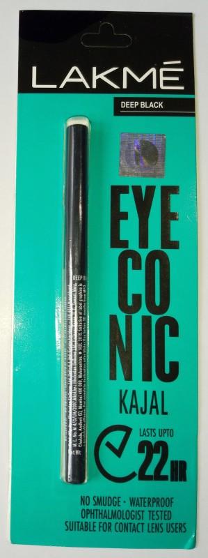 Lakme EYECONIC(DEEP BLACK, 0.35 g)