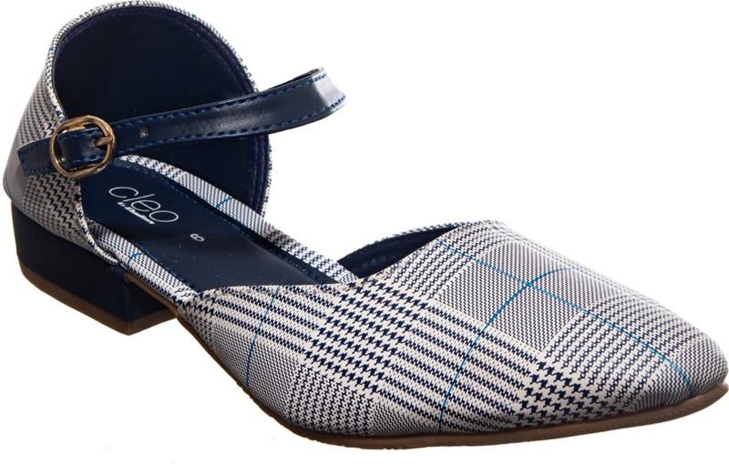 Khadim's Cleo Clog Sandal Outdoors For Women(Navy)