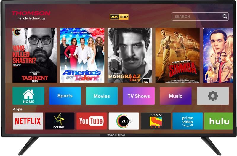 Thomson UD9 124cm (50 inch) Ultra HD (4K) LED Smart TV(50TH1000)