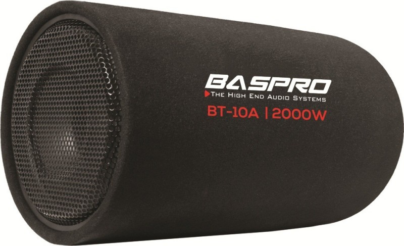 "BASPRO BT-10A 10"" ACTIVE BASS TUBE Subwoofer(Powered , RMS Power: 130 W)"