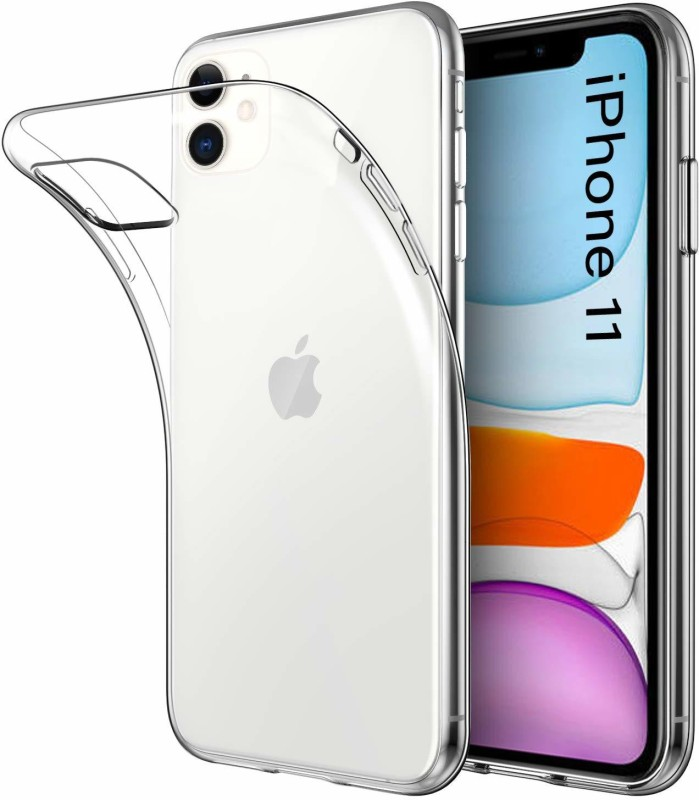 A-Allin1 Back Cover for Apple iphone 11(Transparent, Silicon)