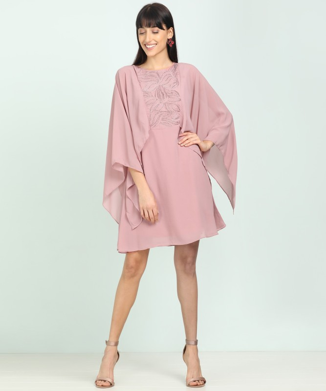 AND Women Shift Pink Dress