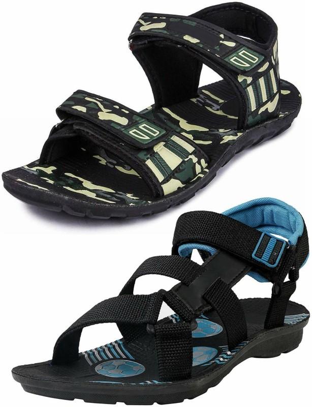 RIFOF Men Black Sandals