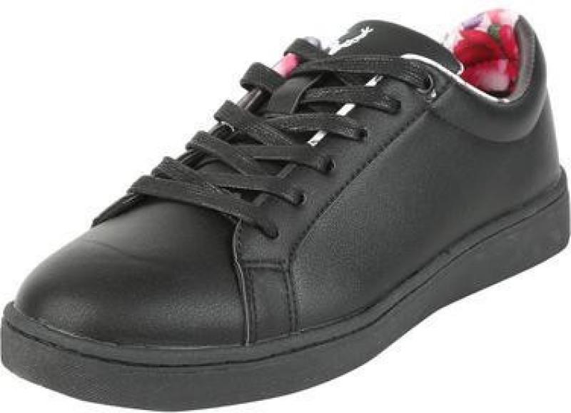 Allen Solly Allen Solly Black Casual Shoes Sneakers For Women(Black)