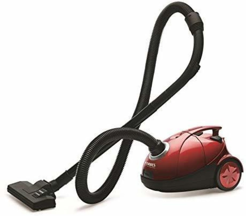 Eureka Forbes Quick Clean DX Dry Vacuum Cleaner(Red, Black)